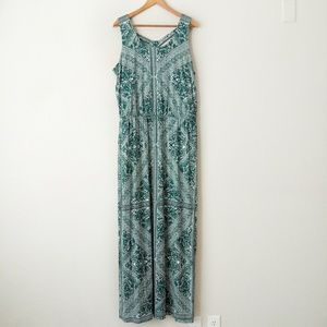 Maurices Printed Maxi Dress Size 0